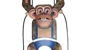 Hry: Šplhající opičák