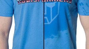 Ulítlá vychytávka: Transformers mokré tričko?
