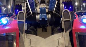 Transformer Optimus Prime v životní velikosti
