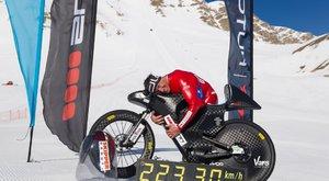 223,3 km/h na horském kole? 54 letý Eric Barone to dokázal
