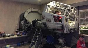 Závidíme! Dokonalý pokoj pro fanouška Star Wars