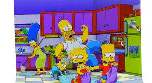 Vystřihovánka v ABC 11: Dioráma Simpsonovi