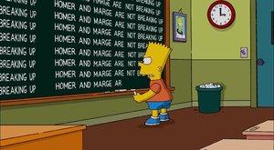 Rozchod Homera a Marge Simpsonových není rozvod!