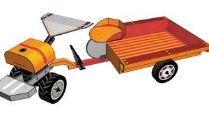 Zemědělská technika: Malotraktor