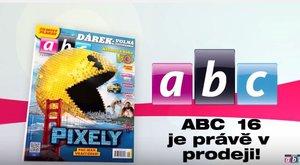 ABC 16 je tady! Pixelová revoluce? Pac-Man žere ábíčko