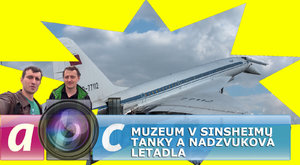Ábíčko s kamerou: Tanky, ale i nadzvuková letadla