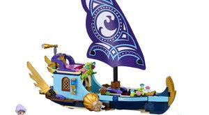Vyhraj LEGO(R) stavebnici Naidina loď pro velké dobrodružství