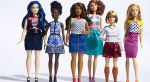 Barbie má novou podobu: Baculatá, drobná nebo vysoká