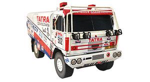 Vystřihovánky v novém ABC: Tatra 815 Dakar a venkovský krámek