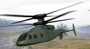 Vrtulník V-280 Valor s dotykovou obrazovkou tabletu