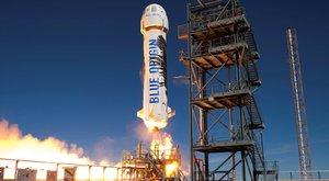 Na skok do vesmíru: Šéf Amazonu staví netradiční raketu