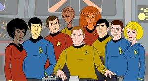 Animovaný Star Trek se vrací! Ale ne, vážně!
