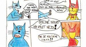 Vaše tvorba: Emin komiks s Mourrisonem