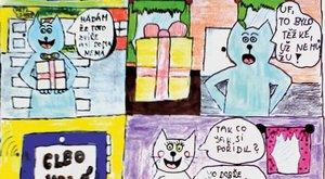 Vaše tvorba: Sářin komiks s Mourrisonem a narozeninami