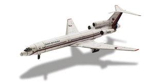 ABC 23: Vystřihovánky letadla Tu-154M a minibox Liaz Race 1