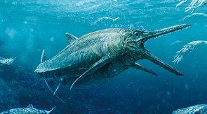 Skutečná Nessie: Ichtyosaurus ze Skotska