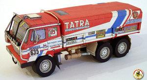 Papírová historie: Tatrovky na Dakaru