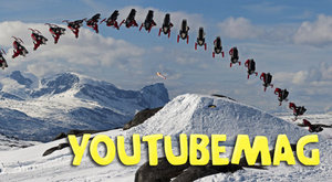 YouTubeMag: Nejšílenější jízdy na ledě