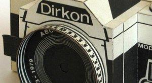 Papírová historie: Foťák z papíru Dirkon