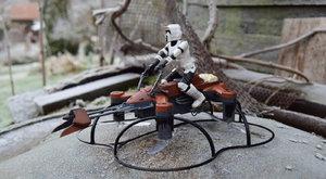 Star Wars 74-Z Speeder Bike: Dron z Temné strany Síly