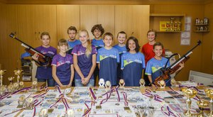 Zlatý oříšek čtenářů ABC 2016: Družstvo žactva Klubu biatlonu