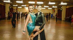 Taneční pár - J. Burant a E. Plachá
