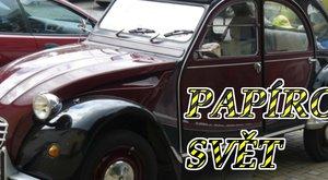 Papírový svět: Postavte si Citroën 2CV