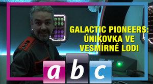 ABC TV: Redakci ábíčka zavřeli do vesmírné lodi Galactic Pioneer!