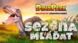 DinoPark 2018: Sezóna vnejvětší síti zábavních parků právě začíná