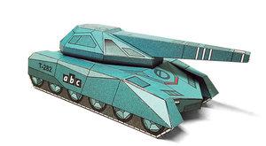 Vystřihovánky  v ABC 9/2018: Stealth tank a mrakodrap City of  …