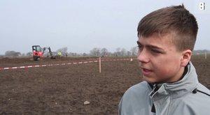 Třináctiletý objevitel pokladů