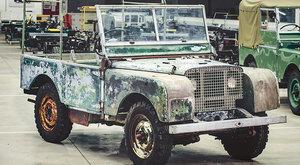 První Land Rover: 70 let terénní legendy