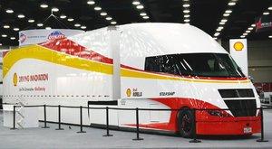 Šetrný kamion Shell Starship