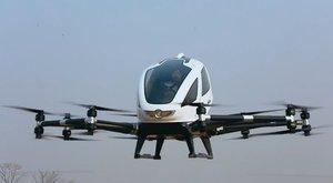 Létající taxi: Dronem po městě