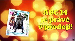 ABC 14/2018: Superhrdinové DC v novém ábíčku!