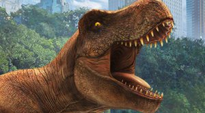 Jurassic World Alive: Ulovte t-rexe s mobilem
