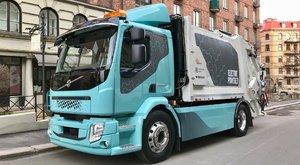 Volvo FE Electric: Elektrický popelák