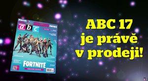 Nové číslo časopisu ABC 17/2018: Všechno o herním megahitu Fortnite