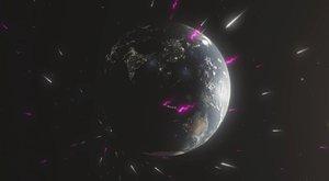 Zemí prolétly tajemné částice z černé díry