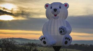 To je šílené! Nejbláznivější tvary horkovzdušných balónů!
