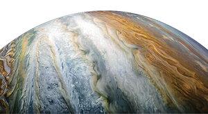 Jupiter vyrostl: Jak k tomu došlo?