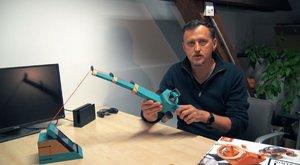 ABC TV: Rybaříme s Nintendo Labo