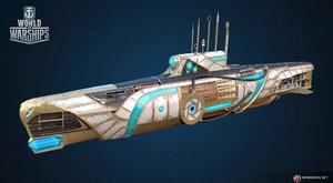 Vzhůru do strašidelných hlubin v ponorkách ve World of Warships