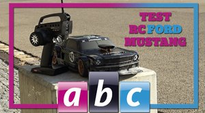 ABC TV: Test RC auta HPI RS4 SPORT 1965 Ford Mustang Hoonicorn