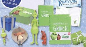 Výherci soutěže Grinch a Sněhová královna