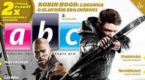 Nové číslo časopisu ABC 2/2019: Robin Hood