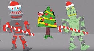 Froggytron a Krang: Animovaní roboti ve Filipově videu na YouTube