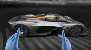 Aston Martin Valkyrie na prodej - s pomocí virtuální reality!