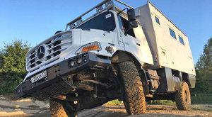 Expedice Mercedes: Zetros je zvenku drsňák, uvnitř elegán