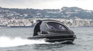 UFO? Ne, superrychlý člun!